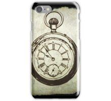 Vintage Pocket watch iPhone Case/Skin