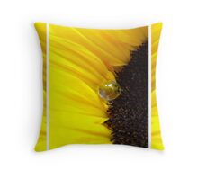 Sunflower Tryptichon Throw Pillow