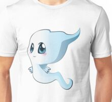 Cute cartoon ghost Unisex T-Shirt