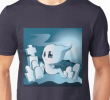 Cute cartoon ghost 2 Unisex T-Shirt
