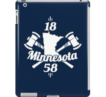 Minnesota 1858 iPad Case/Skin
