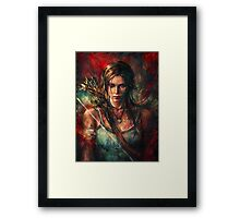 Lara Croft Tomb Raider Reborn Artwork Framed Print