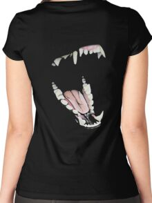 Wolf Teeth Women's Fitted Scoop T-Shirt