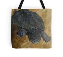 Snapping Turtle Tote Bag