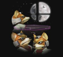 Three Fox Moon by Banobo