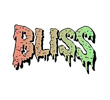 Bliss - Hip Hop mashup logo - Song - Multiple products Photographic Print