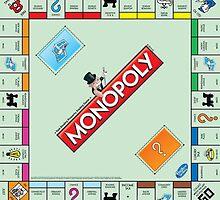 Monopoly Board by PurpleNelly
