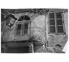 old maltese balcony Poster