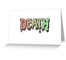 Death - Graffiti. Song Mashup Greeting Card