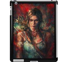 Lara Croft Tomb Raider Reborn Artwork iPad Case/Skin