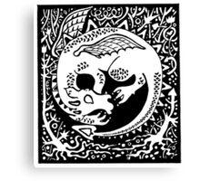 Dragon Sleep Canvas Print