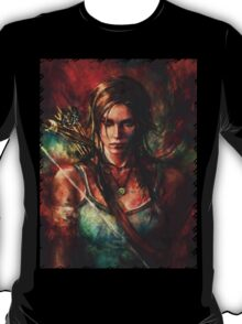 Lara Croft Tomb Raider Reborn Artwork T-Shirt