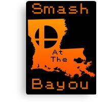 Smash at the Bayou Canvas Print