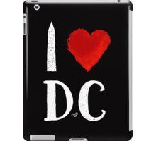 I Heart DC (remix,white) by Tai's Tees iPad Case/Skin
