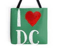 I Heart DC (remix,white) by Tai's Tees Tote Bag