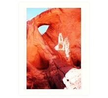 ROCKY EYE...! Art Print