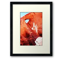 ROCKY EYE...! Framed Print