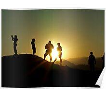 Sunset Photographers Poster