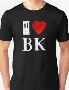 I Heart Brooklyn (remix, white) by Tai's Tees T-Shirt