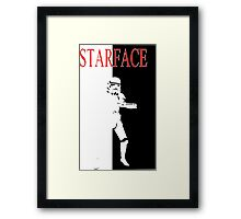 STARFACE Framed Print