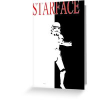 STARFACE Greeting Card