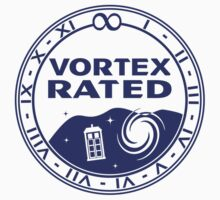 Vortex Rated (Dark) Kids Tee