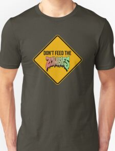 Don't feed the zombies  Unisex T-Shirt