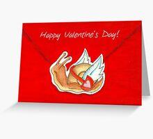Valentine Snail Mail Greeting Card