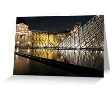 Louvre  Greeting Card