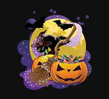 Halloween card with pumpkins and cat 2 T-Shirt