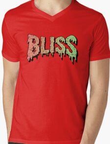 Bliss - Hip Hop mashup logo - Song - Multiple products Mens V-Neck T-Shirt