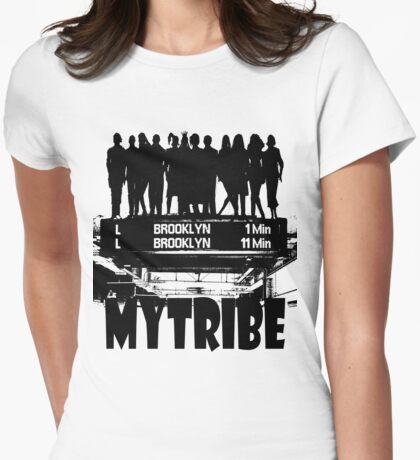 MY TRIBE Womens Fitted T-Shirt