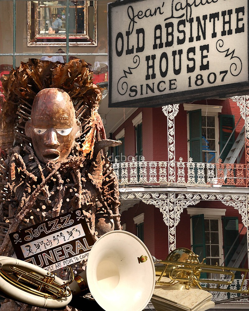 French Quarter Collage by dcborn