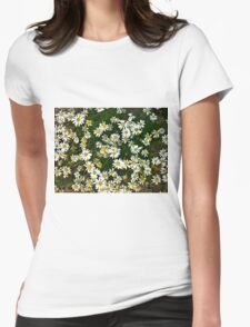 Little Chamomiles 3 Womens Fitted T-Shirt