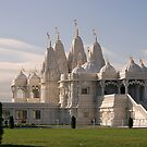 The Swaminarayan Mandir - Toronto, Ontario by Holly Cawfield