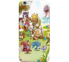 League of Legends chibi poster iPhone Case/Skin