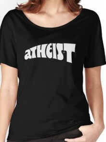atheist vintage by Tai's Tees Women's Relaxed Fit T-Shirt