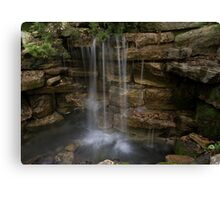 Old Mill Waterfall Canvas Print