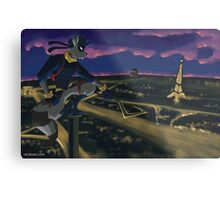 Thief in the Night Metal Print
