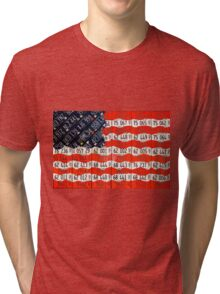 United Plates of America Tri-blend T-Shirt
