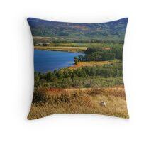 Waterton Lakes National Park - Alberta, Canada Throw Pillow