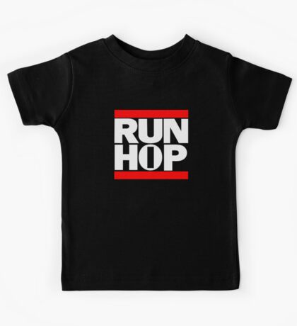 RUN HIP HOP  Kids Tee
