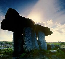 Poulnabrone Dolmen by Michael Walsh