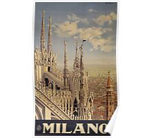 Milano' Vintage Poster (Reproduction) Poster