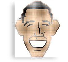 Pixel Prez by Tai's Tees Canvas Print