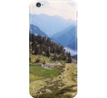 Love hiking in the Pyrénées iPhone Case/Skin