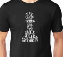 SENECA PAWNS quote-cloud by Tai's Tees Unisex T-Shirt