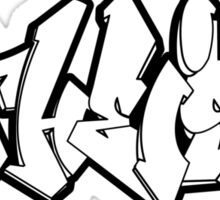 ATHEIST GRAFFITI by Tai's Tees Sticker