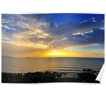 Dublin Bay Sunrise Poster