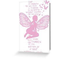 Fairy Wisdom by Tai's Tees Greeting Card
